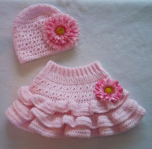 Crochet Skirt for Baby Girl