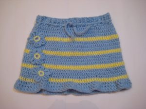 Crochet Skirt for Girls
