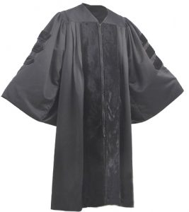 Doctoral Gown Black