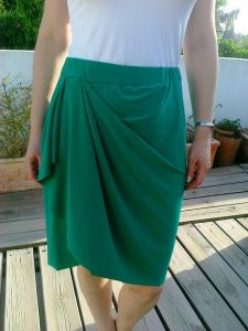 Draped Skirt Pattern