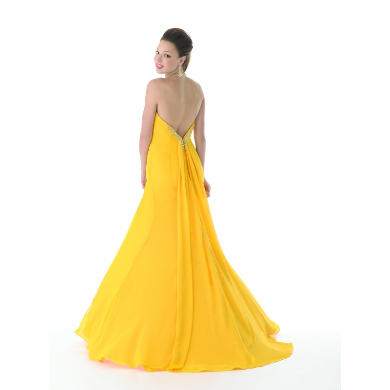 Backless Evening Gowns | Dressed Up Girl