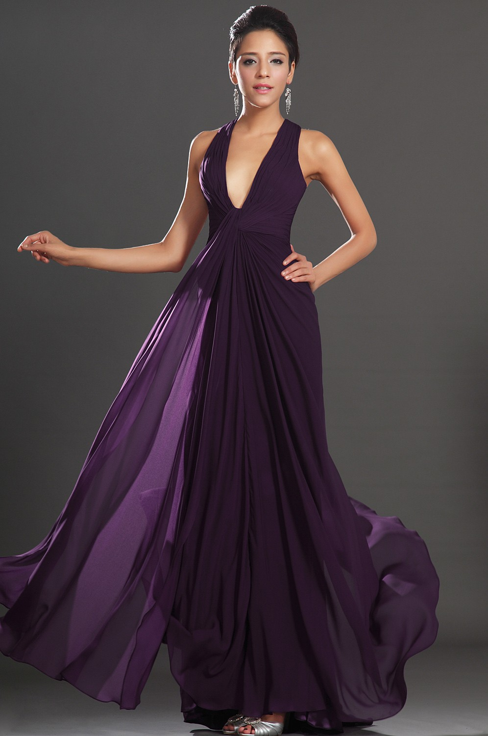 Evening Gown Purple