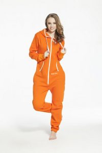 Female Orange Jumpsuit
