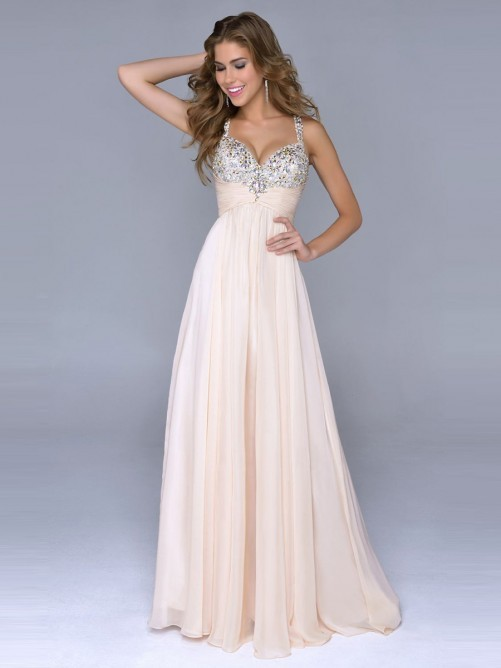 Floor Length Gowns Dressed Up Girl