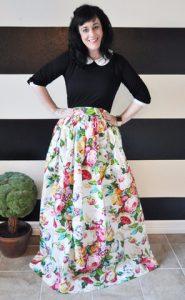 Floral Ball Skirt