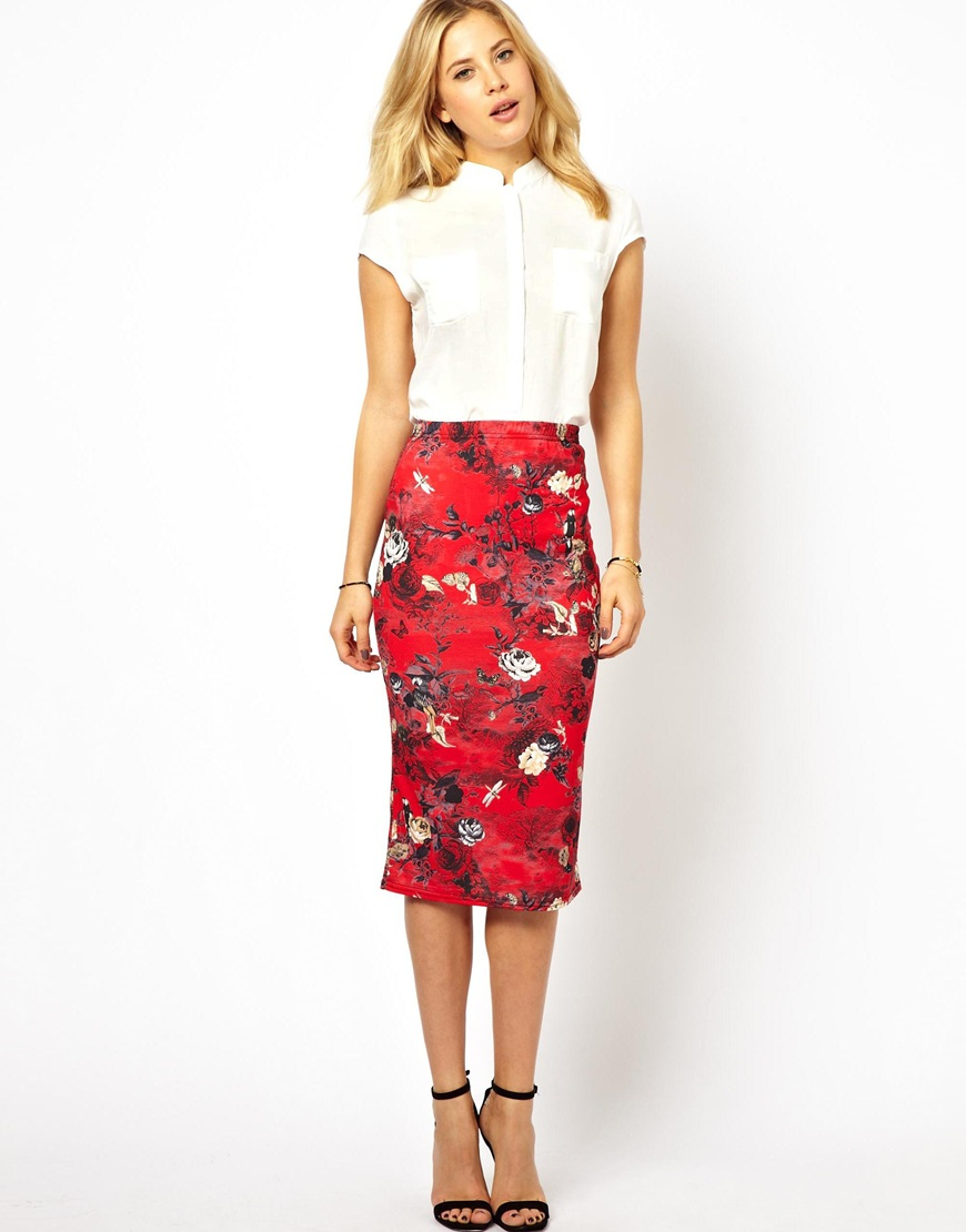 floral skirt dressed up girl