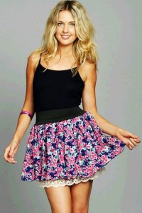 Floral Print Skirts