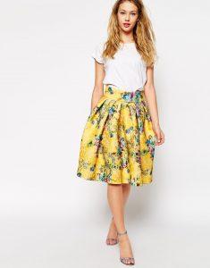 Floral Skirt Images