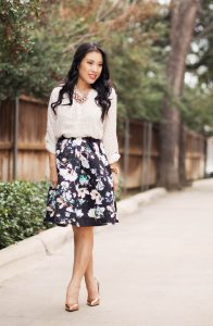 Floral Skirt Outfits