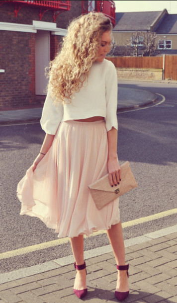 Flowy Skirts | Dressed Up Girl