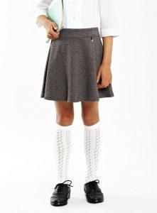 Girls Grey Skirt