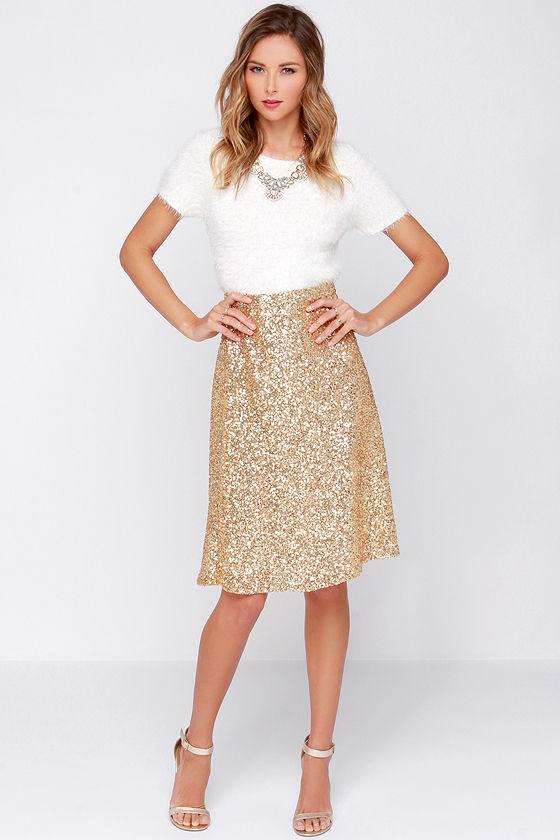 Gold Skirt Dressedupgirl Com