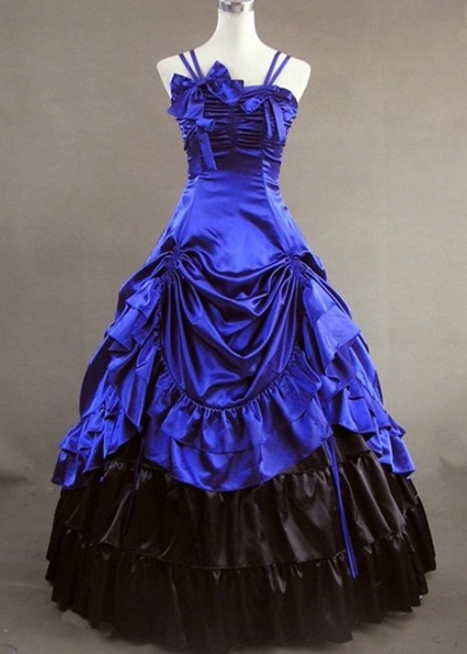 Gothic Ball Gowns Dressed Up Girl