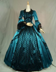 Gothic Victorian Ball Gowns
