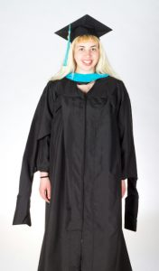 Graduation Masters Gown