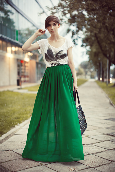 Green Skirt | Dressed Up Girl