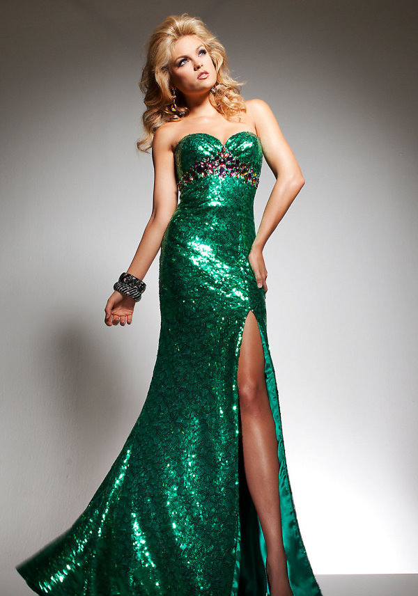 Sequin Gown Dressed Up Girl