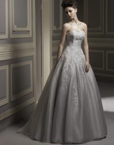 Grey Ball Gown