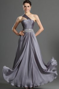 Grey Evening Gowns