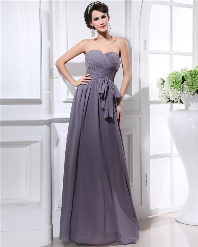 Grey Gown | Dressed Up Girl