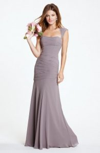 Grey Long Gown
