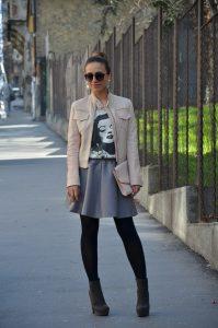 Grey Skirt Outfits