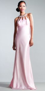 Halter Evening Gown
