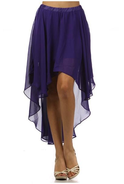 Chiffon Skirt Dressedupgirl Com