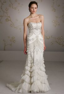 Images of Lazaro Gowns