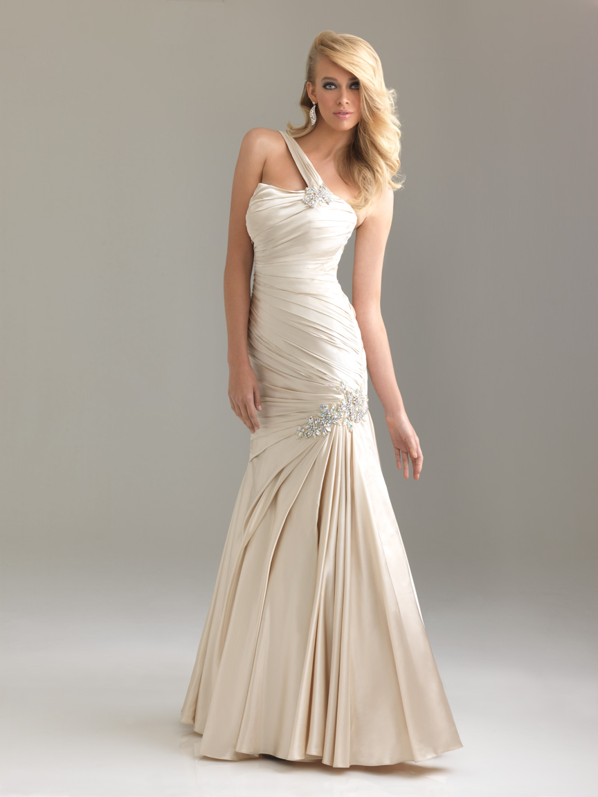 Ivory Evening Gowns