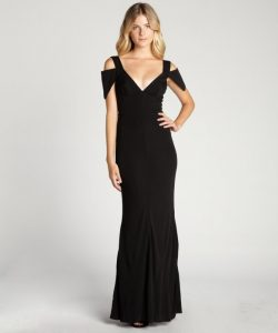 Jersey Evening Gown