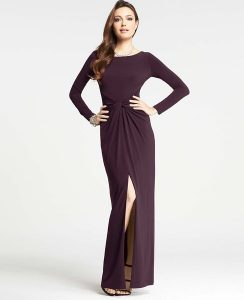 Jersey Gowns Sleeves