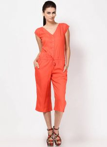 Jumpsuit Orange