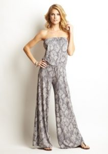 Jumpsuits Strapless