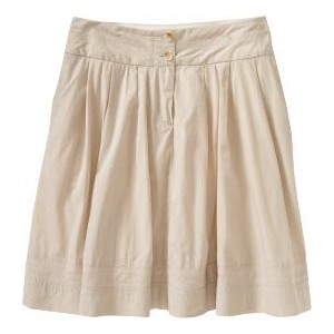 Womens Khaki Skirt - Dress Ala