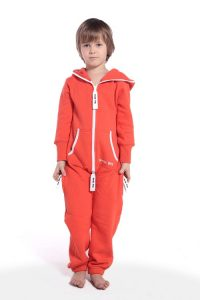Kids Orange Jumpsuit