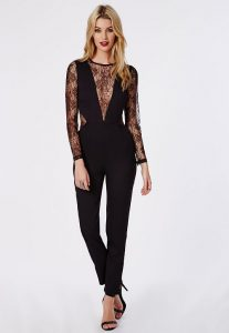 Lace Black Jumpsuit