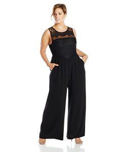 Lace Jumpsuit Plus Size