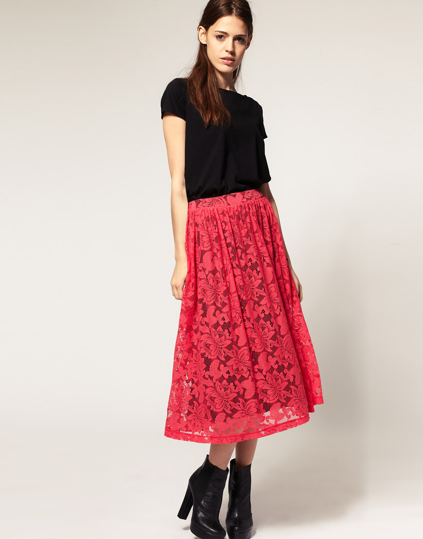 Lace Skirt | Dressed Up Girl