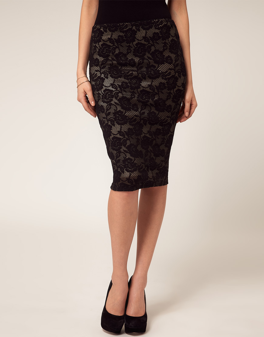 Bodycon lace pencil skirt – Modern skirts blog for you
