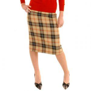 Ladies Tartan Skirt