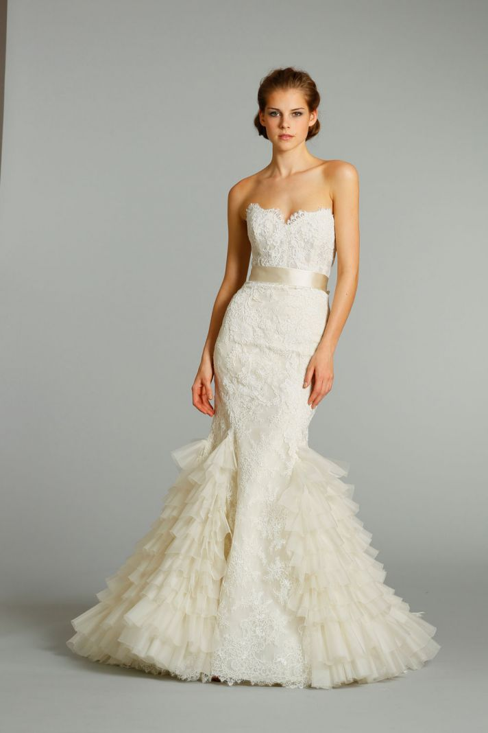 Lazaro gowns dressed up girl for Where to buy lazaro wedding dresses