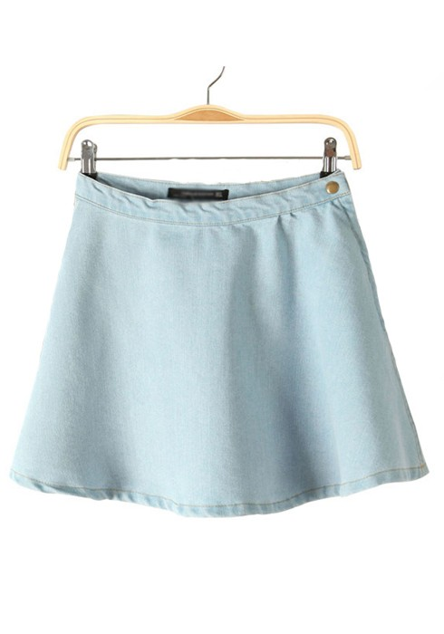 Light Blue Skirts - Skirts