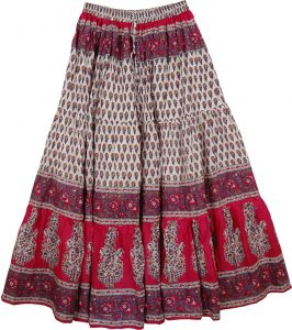 Long Boho Skirts