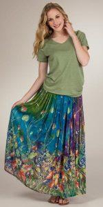 Long Broomstick Skirts