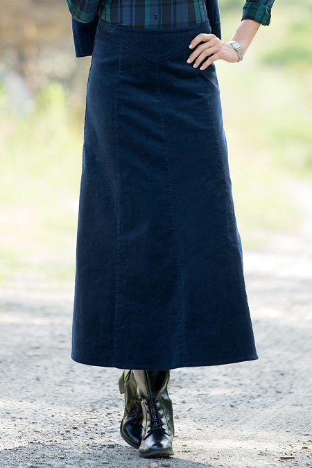 Corduroy Skirt Dressed Up Girl