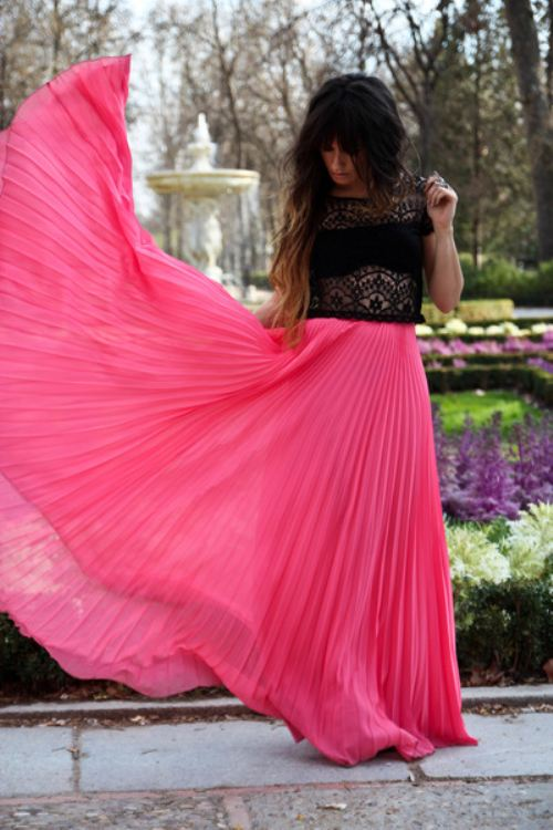 Flowy Skirts Dressed Up Girl