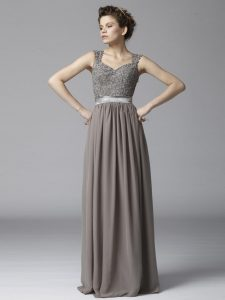 Long Grey Gown
