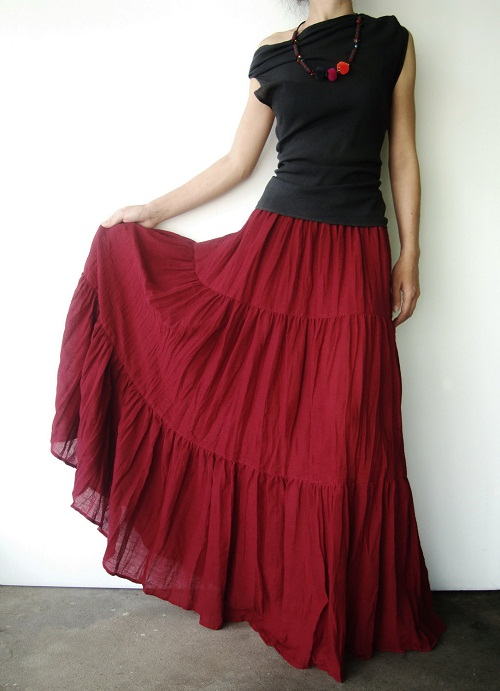 Excellent Long Skirts For Women Indian 20142015  Fashion Trends 20162017
