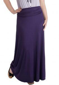 Long Purple Skirt